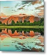 Matheson Lake Metal Print by MotHaiBaPhoto Prints