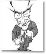 Matt Ridley, Caricature Metal Print by Gary Brown
