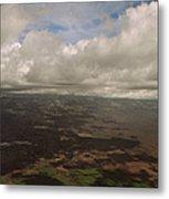 Maui Beneath The Clouds Metal Print