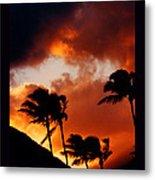 Maui Breeze Metal Print