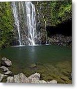 Mauis Wailua Falls Metal Print