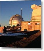 Mauna Kea Observatories Metal Print
