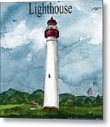May The Magnificent Lighthouse  Metal Print