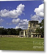 Mayan Ball Court Metal Print