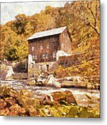 Mcconnell's Mill Metal Print