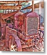 Mccormack Deering Tractor  Metal Print