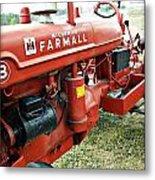 Mccormick Farmall Metal Print