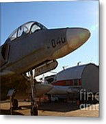 Mcdonnell Douglas Ta-4j Skyhawk Aircraft Fighter Plane . 7d11302 Metal Print by Wingsdomain Art and Photography