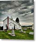 Mcelwee Chapel Series II Metal Print by Kathy Jennings