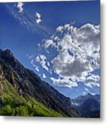 Mcgee Creek Canyon Metal Print
