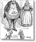 Mckinley Cartoon, 1900 Metal Print