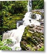 Mclean Falls In The Catlins Metal Print