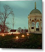 Md. Monument And Dunker Church 11 Metal Print