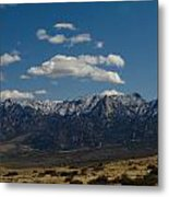 Meadow And Mountains Metal Print