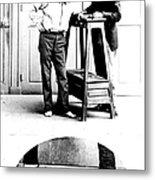 Measurement Of The Cubit, Bertillon Metal Print