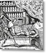 Medical Purging, Satirical Artwork Metal Print