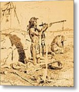 Medicine Man Metal Print by Pg Reproductions