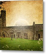 Medieval Church Metal Print