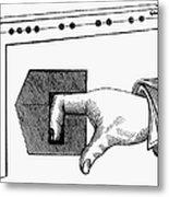 Medieval Finger Pillory Metal Print by Granger