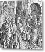 Medieval Prison, 1557 Metal Print