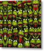 Meet The Froggers Metal Print