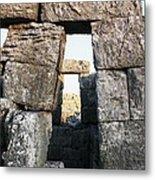 Megalithic Gateway Metal Print