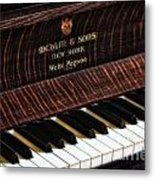 Mehlin And Sons Piano Metal Print