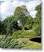 Melbourne Pool And Weir Metal Print