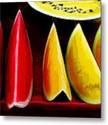 Melons Metal Print by The DigArtisT