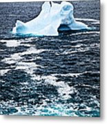 Melting Iceberg Metal Print