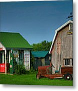 Mementos From The Past I Metal Print by Steven Ainsworth
