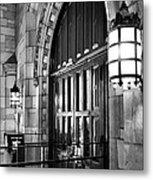 Memorial Hall Entrance Metal Print