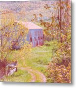 Memories Of The Farm Metal Print