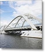 Memphis Arkansas Bridge, Netherlands Metal Print