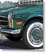 Mercedes Benz 280sl Roadster 2 Metal Print by Samuel Sheats