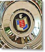 Mercury Wheel Emblem Metal Print