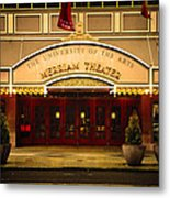 Merriam Theater Metal Print