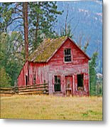 Merritt Farmhouse Metal Print