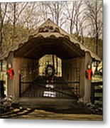 Merry Christmas From Tennessee Metal Print