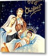Merry Christmas Metal Print by Tanmay Singh