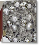Merry Christmas V3 Metal Print