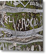 Messages Metal Print