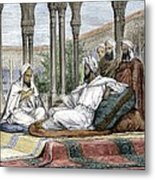 Mesue The Elder, Persian Physician Metal Print by Sheila Terry