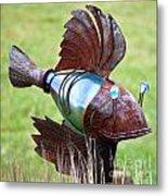 Metal Fish Metal Print
