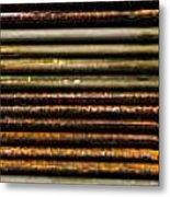 Metal Stripe  Metal Print