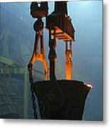 Metalworks Foundry Equipment Metal Print