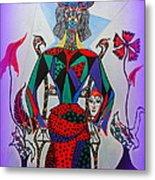 Metamorphosis Of Eleonore Into A Snake. Metal Print