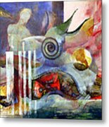 Metaphor Six Metal Print