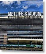 Metlife Stadium Metal Print