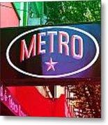 Metro Star Metal Print